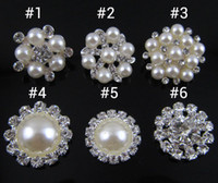 Wholesale NEW Shiny metal rhinestone button crystal button Sliver design you can pick PJ
