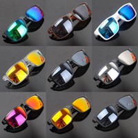 UV400 Wrap Man Free shipping sporty riding mirror sunglasses multicolor wholesale cycling mirror