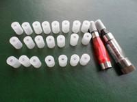 Wholesale 10pcs Atomizer caps test drip tip Test Hole Tips E Smoker mouthpiece testing ce4 silicon cover for CE4 ce5 vivi nova T2 clearomizer