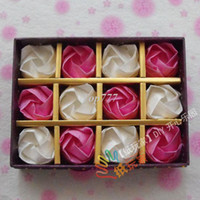 Wholesale 12 KAWASAKI paper rose finished products Christmas birthday gift paper flowers finished product