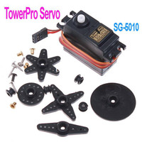 Airplanes Antennas Plastic Stable Performance SG 5010 TowerPro Torque Coreless Servo for RC Plane Helicopter Car Black ,Freeshipping Dropshipping wholesale