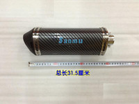 Wholesale Exhaust pipe motorcycle modified exhaust triangular