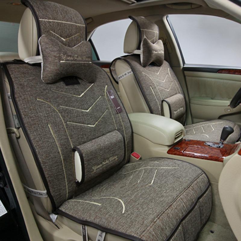 seat cover car seat cushion linen kia sorento k2 kia k3 k5 seatpad k2 boots cushion cover. Black Bedroom Furniture Sets. Home Design Ideas