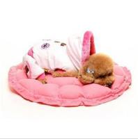 Wholesale Monochrome circular dog kennel Pumpkin nest contractile phenotype