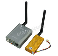 Wholesale 5 GHz W AV Wireless Transmitter Receiver Sender Audio Video M Open area wireless transmission and Reception new hot