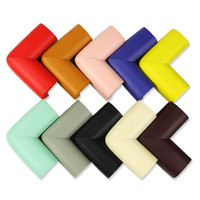Wholesale 55 mm Colorful Safety Anti Collision Desk Corner Protector Table Edge Cushion Home Decoration SH105