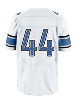 Men Short Polyester 2013 Elite Jersey #44 White Color Best Jersey American Football Jerseys Sport Jerseys hollywoodjersey