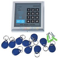 electronic key door lock - New Electronic RFID Proximity Entry Door Lock Access Control System with Key Fobs