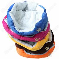 Wholesale Pet Dog Puppy Cat Soft Fleece Warm Bed House Plush Cozy Nest Mat Pad Kennels Pens Colors Size