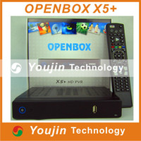 Wholesale Original Openbox x5 hd pvr full p Satellite Receiver support Youtube Gmail Google Maps Weather CCcam Newcamd freeshipping