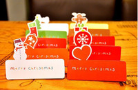 Wholesale New fashion series christmas card set card envelope greeting card design mix