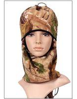 Wholesale WarmSkin Fleece Balaclava headgear camo Mask for motorbikes Snowmobile Hunting camouflage mask