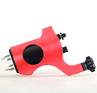 shader and liner   Professional Rotary Tattoo Machine Red Tattoo Equipment free shipping