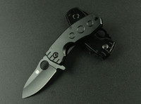 Multi Tools spyderco - New SPYDERCO DA39 Folding Pocket Knife Hunting Utility Knife Blade Full Steel Handle Gift Knife