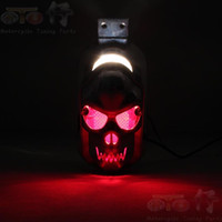 Wholesale Pedal motorcycle accessories motorcycle modification parts motorcycle tail brake light bulb lamp motorcycle taillight assembly