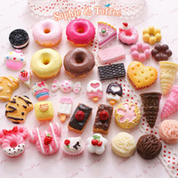 Wholesale 50pcs Decoden Sweets Deco Resin Kawaii Cabochon Assortment Assorted Pack