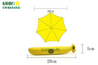 Wholesale BLOOM fashion anti uv rain proof umbrella high quality rain umbrellas men and women easy to store banana