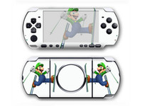 Wholesale Vinyl Decal Skin Sticker Cover Case for Sony PSP3000 Super Mario