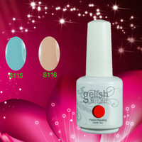 Soak-off Gel Polish Led uv gel 230Colors 100% Brand New Gelish Nail Polish Soak Off UV LED Gel Nail Polish 230 Fashion Colors Available 200Pcs lot