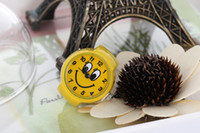 Wholesale 2013 New Arrival Smiling Face Quartz Movement Analog Finger Ring Watch with Alloy Strap