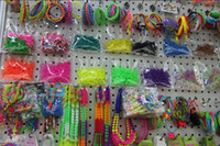 Wholesale GLOWS IN THE DARK IN PACKAGE Luminous Rainbow Loom Colorful Silicone LOOM BANDS Bands amp