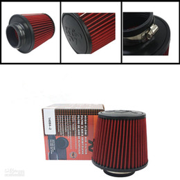 Wholesale Factory supply NEW Universal K N Cold Air Intake Filter mm inch car Air filter