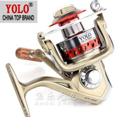 Cheap Free Shipping METAL 1pcs YOLO DFB1000 5.1:1 8BB Fishing Reel Fishing Reels spinning reel lure