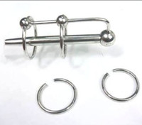 Male Catheters & Sounds  New Urethral Stainless steel TUBE Dilatator MALE Adult Products BDSM Fetish Bondage GAY Sex Toys A013