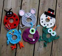 Wholesale Custom made Crochet Camera lens buddy for baby Crochet lens critter SLR Camera Lens Buddies lens jacket Photographer helper