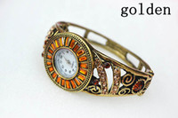 Unisex Oval Analog Wristwatches Fashion Vintage Quartz Wrist Watches Metal Band Watch Men Women Adjustable 6 Colors 1pcs nb0130-136-137
