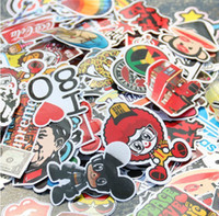 Wholesale Personality DIY Graffiti stickers for motorcycle bike car phone guitar accessories