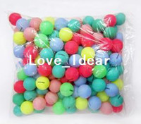 Wholesale 50pcs Table Tennis Balls multicolour
