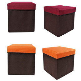 Wholesale Freeshipping Stool Foldable storage stool Multifunctional stool dropshipping F518