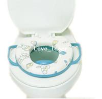 U055 Zhejiang, China (Mainland)  baby soft toilet seat cushion child seat with handles baby toilet seats FREE SHIPPING U055
