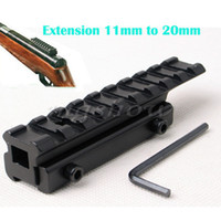 Wholesale 11mm to mm Dovetail Weaver Picatinny Rail Mount Adapter Converter Scope Base