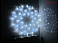 lights tree ornaments - Led snow lights series of lawn lamp garden light festival Christmas LED ball lamp