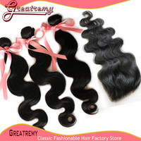 Malaysian 100% Unprocessed Virgin Human Hair Extensions Weav...