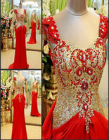 Sequins Sleeveless Sweep Train Actural Picture A Line Sweep Train Red Satin Cap Sleeve Evening Dresses Sequins Crystal Diamond Evening Gowns Cheapest Prom Dresses