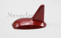 Wholesale Neverland Universal Car GPS decorative Dummy Roof Shark Fin Antenna Aerial Spoiler Red