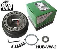 al por mayor las existencias de volkswagen-Universal Racing de alto rendimiento de dirección Kit rueda Hub Adaptador Jefe de VOLKSWAGEN, HUB-VW-2 Golf2 en stock