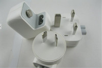 For Apple Power charger For Ipad 12W 2.4A Plug+USB Wall Charger Power AU, US, EU, UK Adapter for iPad mini iphone 4s 5 50pcs lot