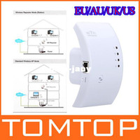 Wholesale Hot Sale New MBPS WPS Wireless N Wifi Repeater B G N Router Range Expander M dBi Antennas with US EU AU UK Plug
