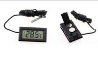 Wholesale 800pcs Brand New Mini small Mini Digital LCD Electronic Thermometer Combo