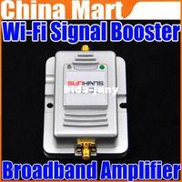 Wholesale 2W Wifi Wireless Broadband Amplifier Ghz Power Range Signal Booster Router