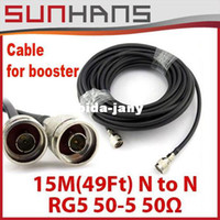 antenna marketing - Direct Marketing signal booster cable M Ft N to N RG5 outdoor antenna cable