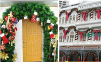 pine tree - Hot sale Christmas supplies christmas tree decoration meters christmas pine branches rattails