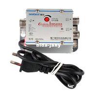 tv antenna - Freeshipping High Quality New TV CATV Antenna Broadband Signal Amplifier AMP Booster Dropshipping