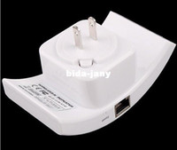 Wholesale 5pcs a Wireless N Wifi Repeater N B G Network Router Range Expander M dBi Antennas US EU AU Plug