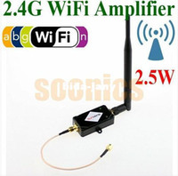 Wholesale 2 GHz Wireless W dBm Broadband N WiFi Amplifier Signal Range Booster