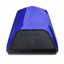 Wholesale motorcycle rear seat cowl rear seat cover pillion passenger seat cushion for Yamaha YZF1000 R1 blue